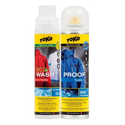 Toko Duo-Pack Textile Proof & Eco Textile Wash 250ml